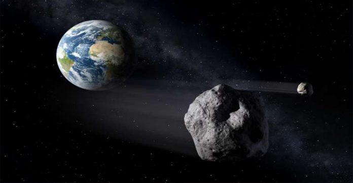 Giant asteroid to fly by Earth